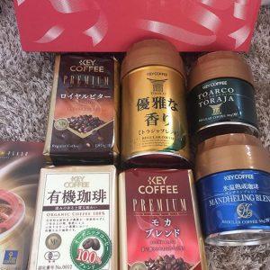 キーコーヒーの福袋ネタバレ2019-10-2
