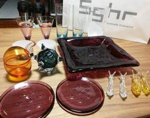 スガハラガラスの福袋の中身2019-10-1