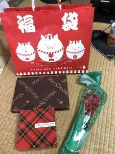 メリーチョコレートの2019-福袋の中身