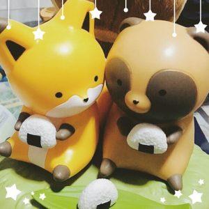 タヌキとキツネの福袋2019-10-10