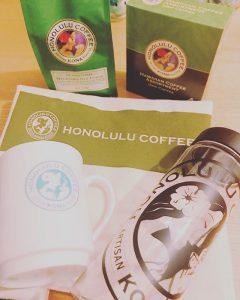 ホノルルコーヒーの福袋の中身2019-3-1