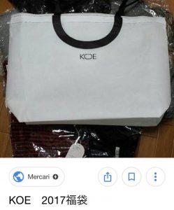 koeの福袋2019-3-3