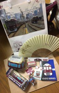 阪急電車の福袋の中身2017-12-1