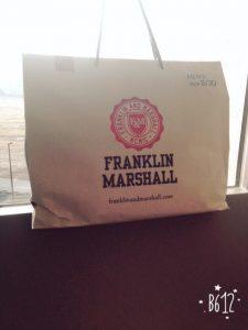 フランクリン マーシャルの2016-福袋の中身