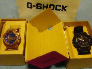 G-SHOCKの福袋の中身2016-9-1