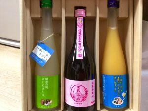 日本酒の福袋の中身2019-1-1