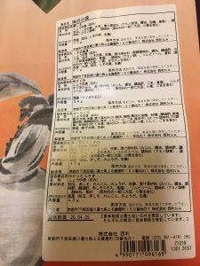 京つけもの西利の福袋ネタバレ2020-7-2
