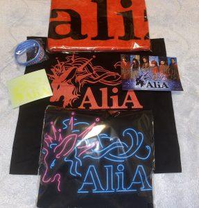 AliAの福袋の中身2020-6-1