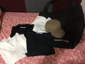 COLONY 2139の福袋の中身2017-3-1
