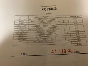 エアガン市場ファーストの福袋ネタバレ2020-8-2