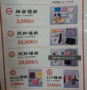 中川政七商店の福袋の中身2021-8-1