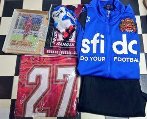 FC琉球の福袋の中身2021-10-1