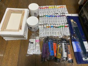 画材販売.jpの福袋の中身2021-1-1