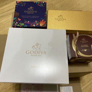 ゴディバの福袋2021-5-3